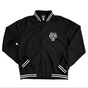 Omocat Tigerback Black Bomber Jacket